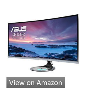 ASUS Designo MX34VQ 34 Inch Monitor With Built-In Speakers